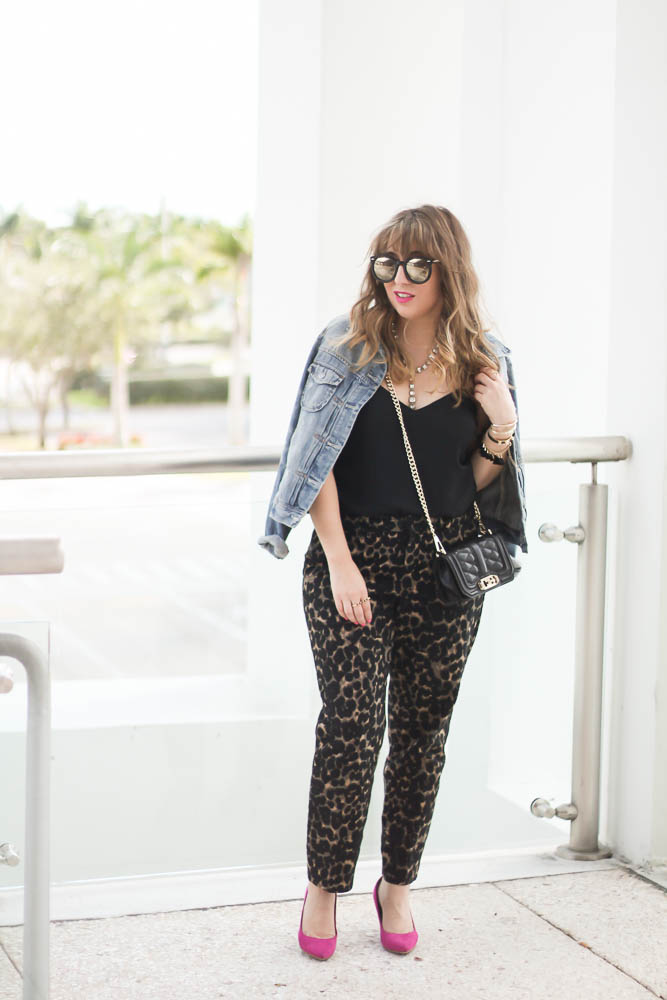 Old Navy Leopard Pants (6 of 11)