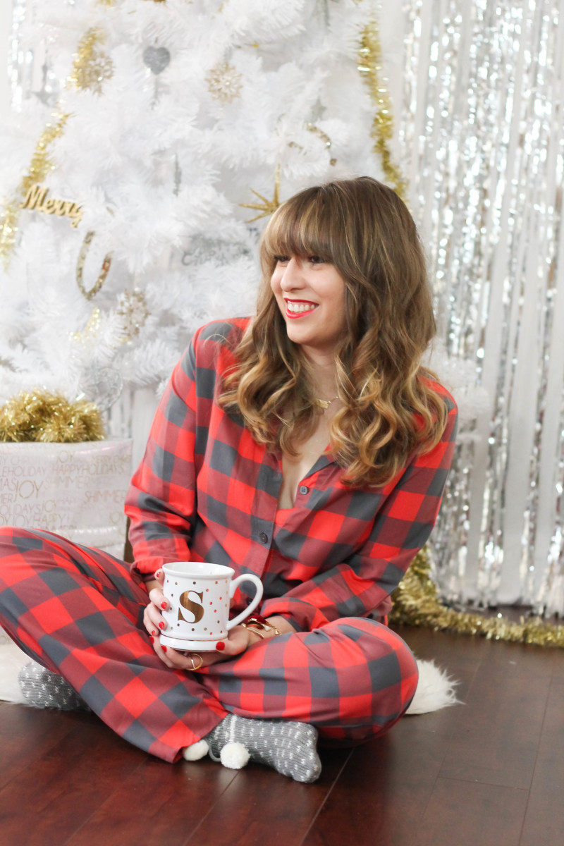 Christmas pajamas and holiday traditions