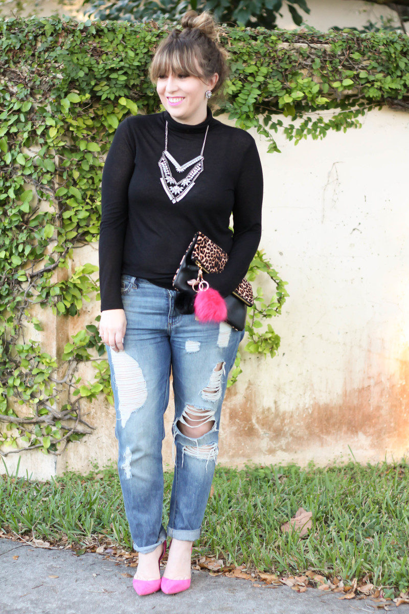 How to style a turtleneck and boyfriend jeans-8