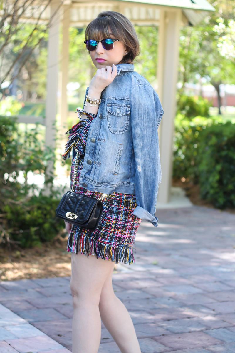 Shein Tweed Fringe Dress_-10
