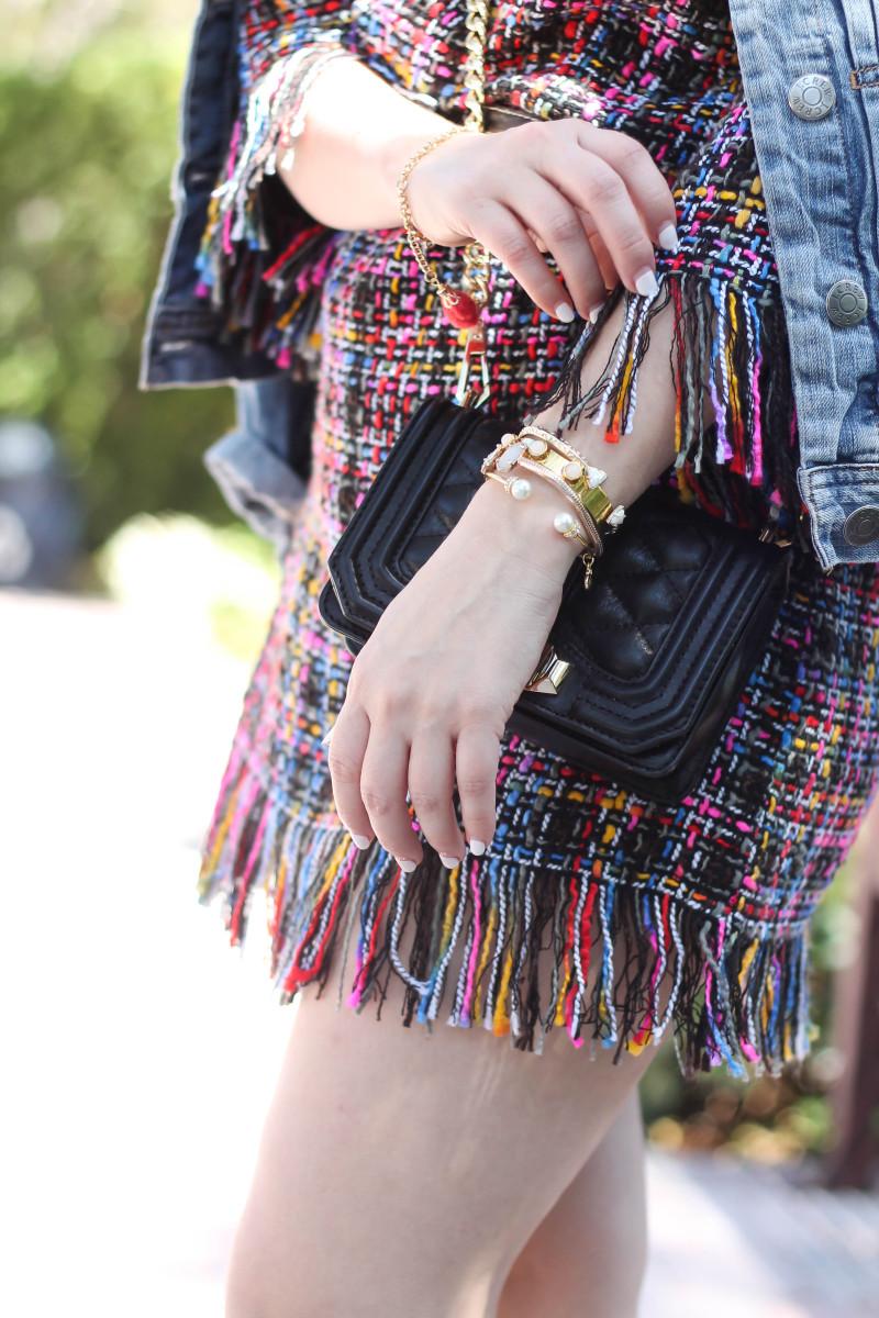 Shein Tweed Fringe Dress_-12