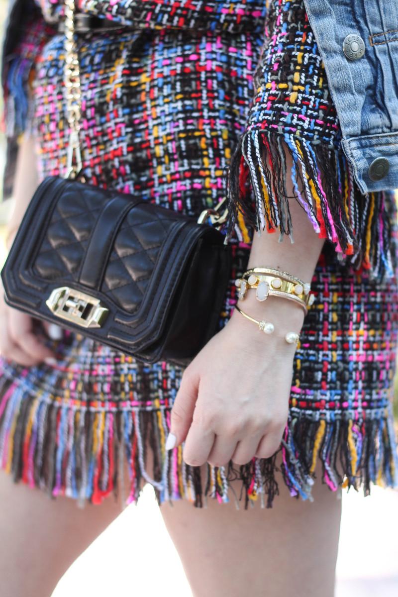 Shein Tweed Fringe Dress_-13