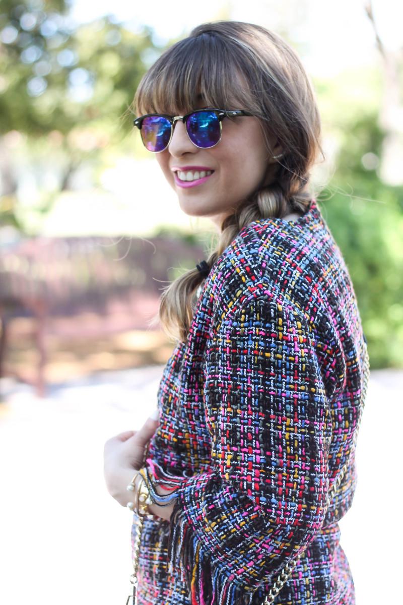 Shein Tweed Fringe Dress_-3