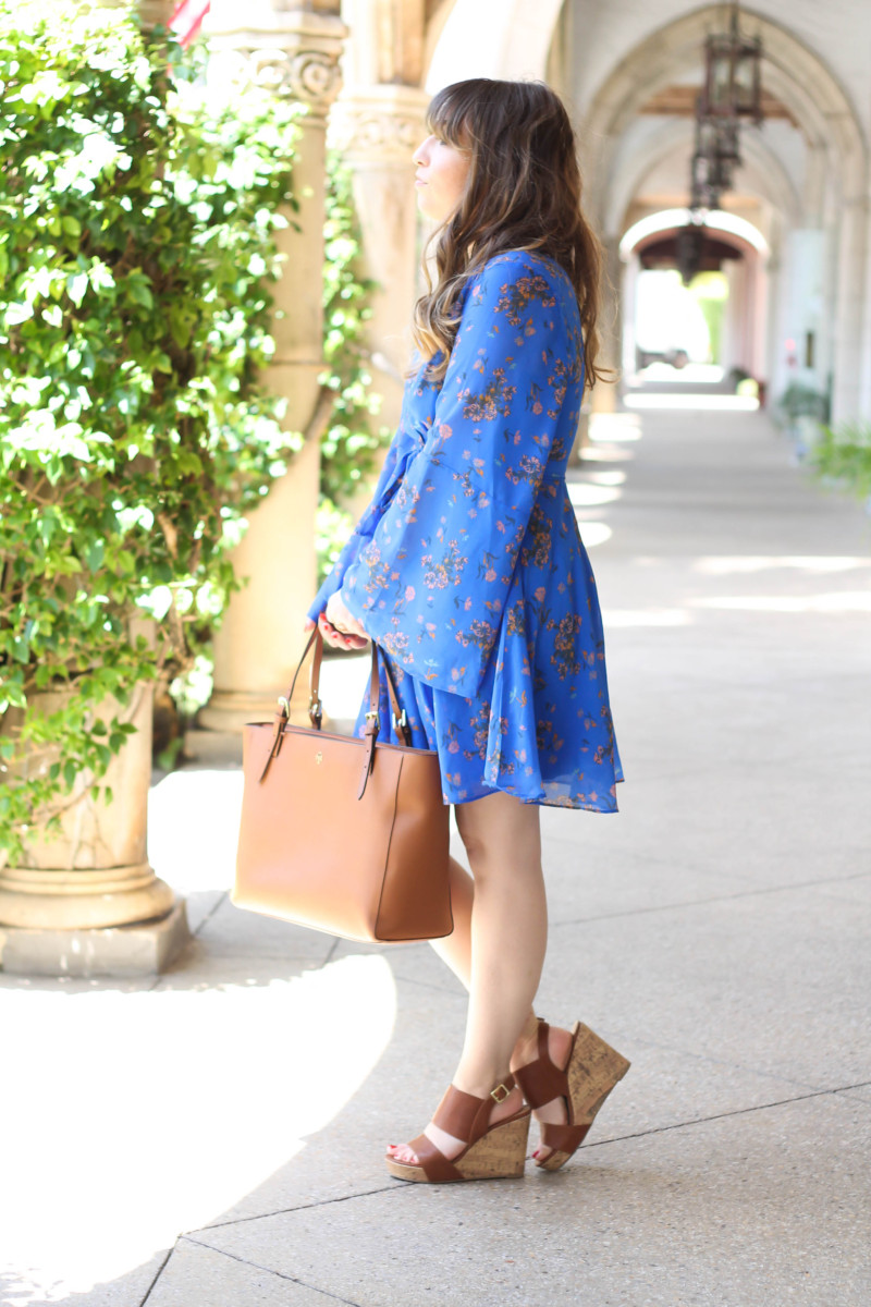 Free People blue floral dress-2