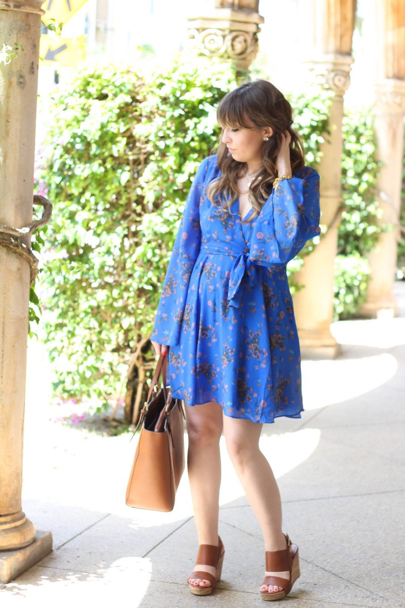 Free People blue floral dress-4