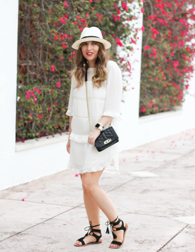 Target x Who What Wear white layered dress-6