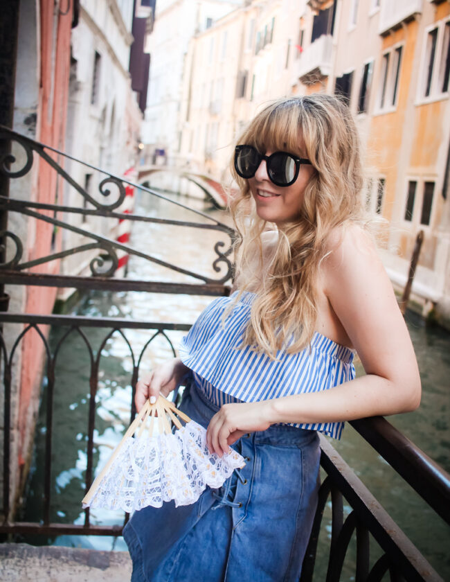 hm-stripe-ruffle-top-free-people-denim-lace-up-skirt-7-of-9