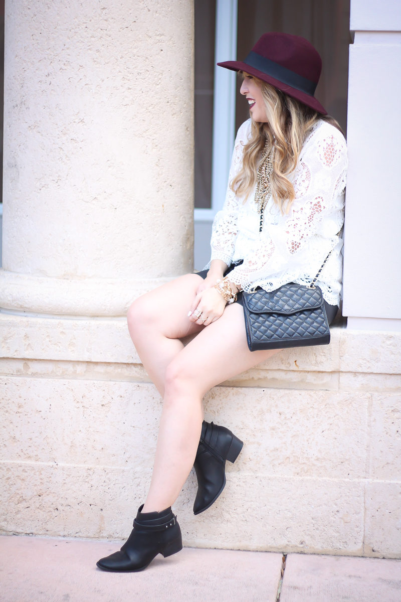 choie-white-lace-bell-sleeve-top-leather-shorts-target-maroon-felt-fedora-lc-lauren-conrad-booties-rebecca-minkoff-quilted-mini-affair-bag-12-of-16