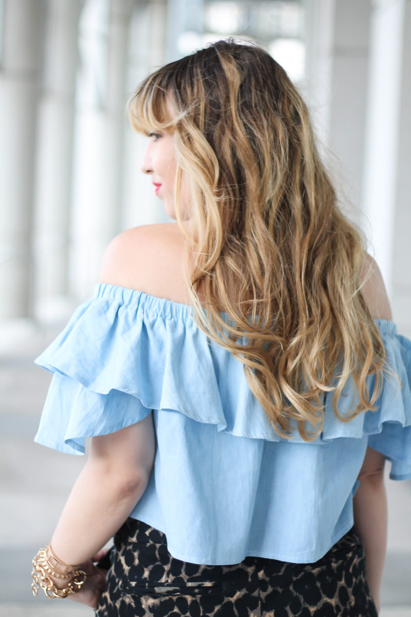 choies-chambray-off-the-shoulder-top-old-navy-harper-pant-8-of-10
