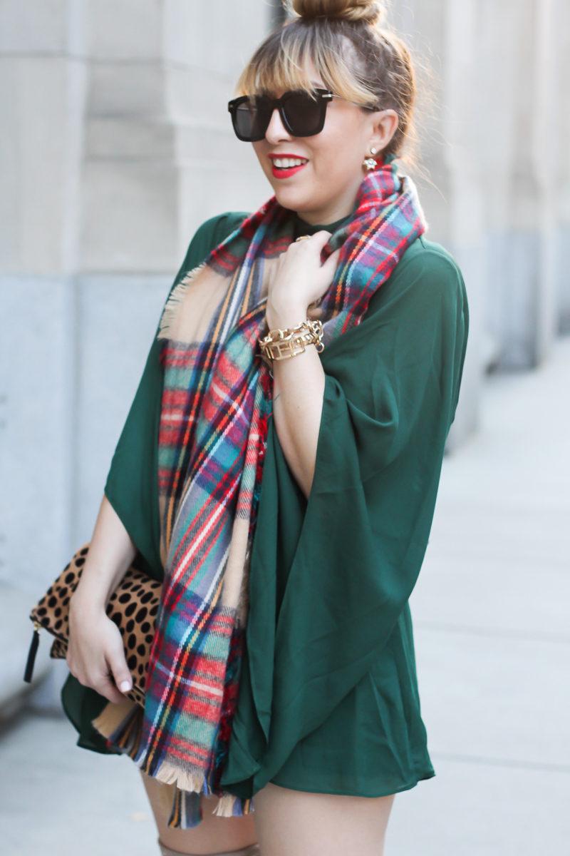 Miami fashion blogger Stephanie Pernas shares an easy holiday outfit idea.