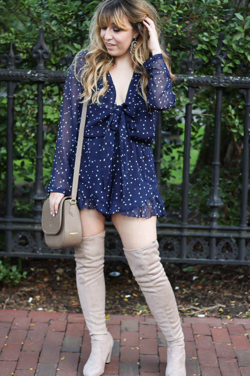 lioness-navy-blue-star-romper-chinese-laundry-over-the-knee-boots-6-of-10