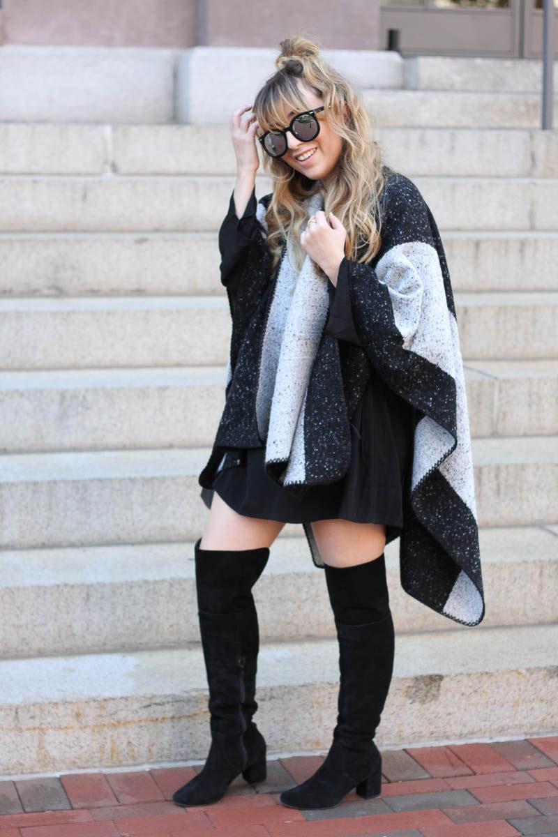 lush-black-dress-ily-couture-stripe-cape-12-of-16