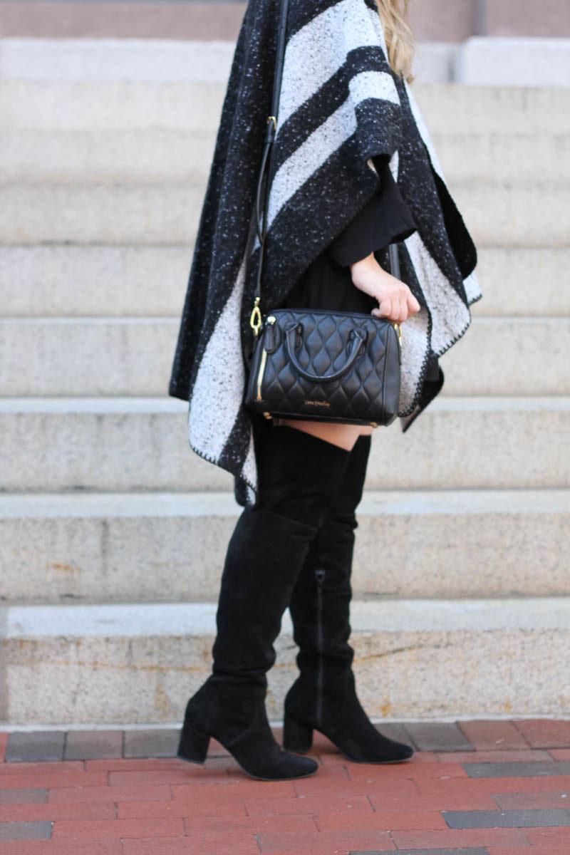 lush-black-dress-ily-couture-stripe-cape-13-of-16