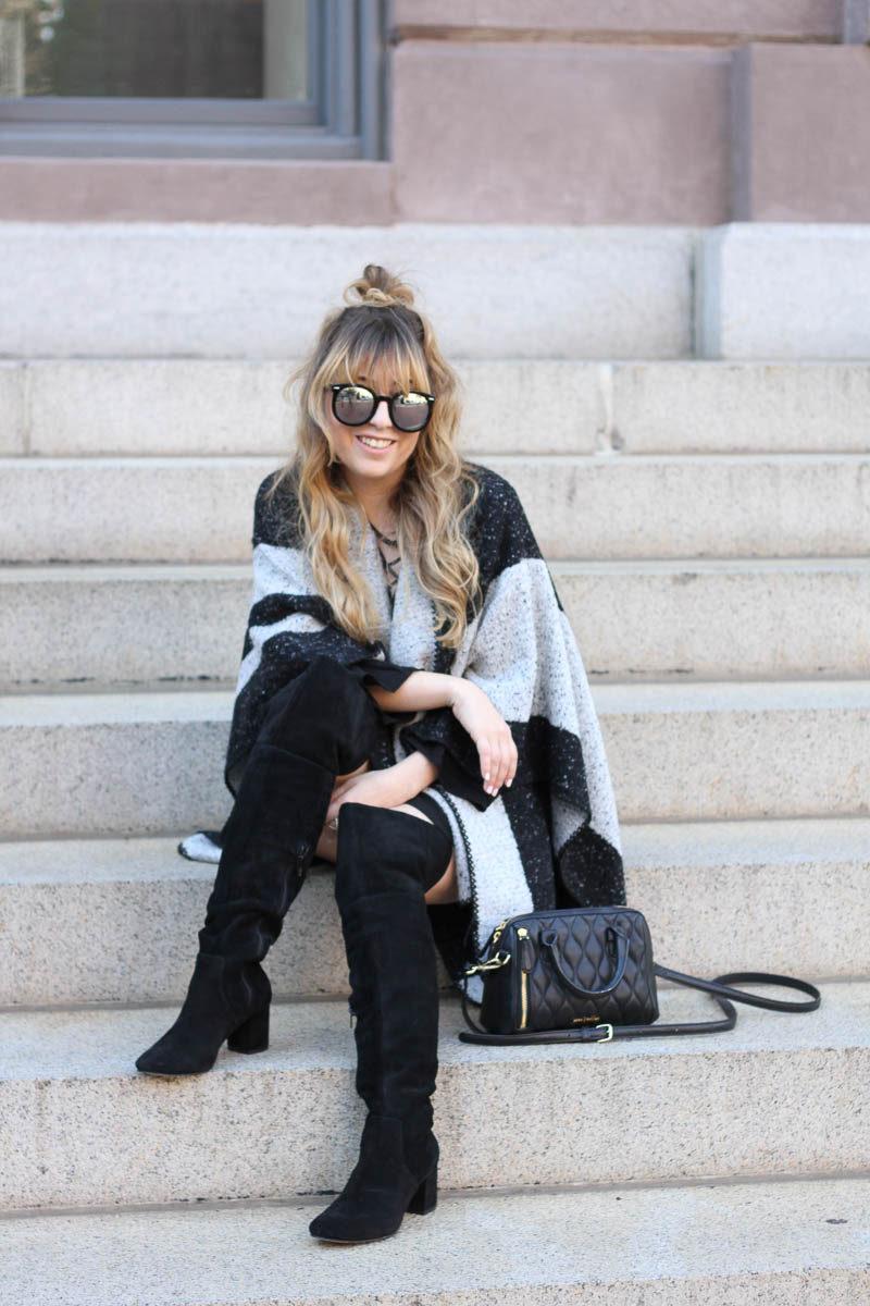 lush-black-dress-ily-couture-stripe-cape-16-of-16