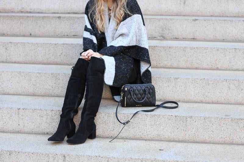 lush-black-dress-ily-couture-stripe-cape-4-of-4