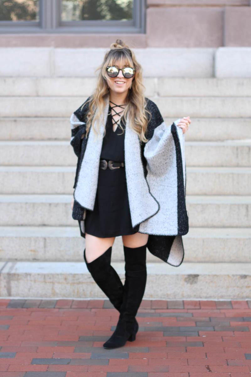 lush-black-dress-ily-couture-stripe-cape-5-of-16