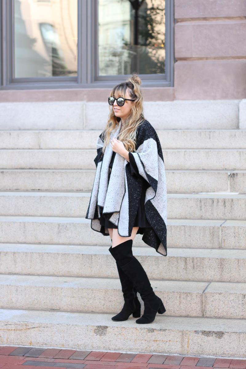 lush-black-dress-ily-couture-stripe-cape-6-of-16
