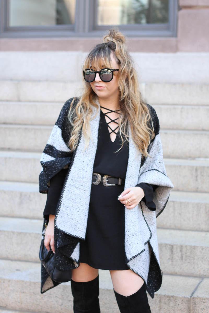 lush-black-dress-ily-couture-stripe-cape-8-of-16