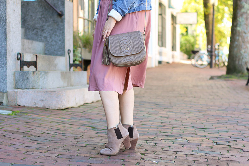 Miami fashion blogger Stephanie Pernas wearing her favorite fall booties, the Sole Society Lylee.