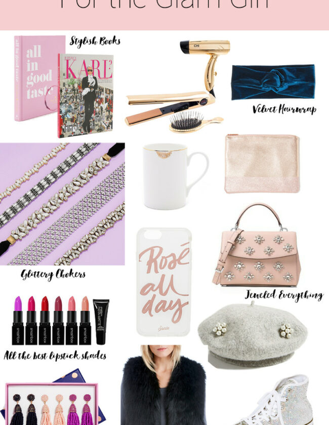 Holiday Gift Ideas for Glam Girl