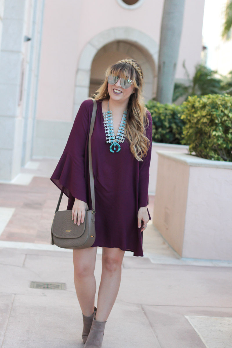 Miami fashion blogger Stephanie Pernas styles a GiGi New York Kelly saddlebag and Sole Society Lylee booties
