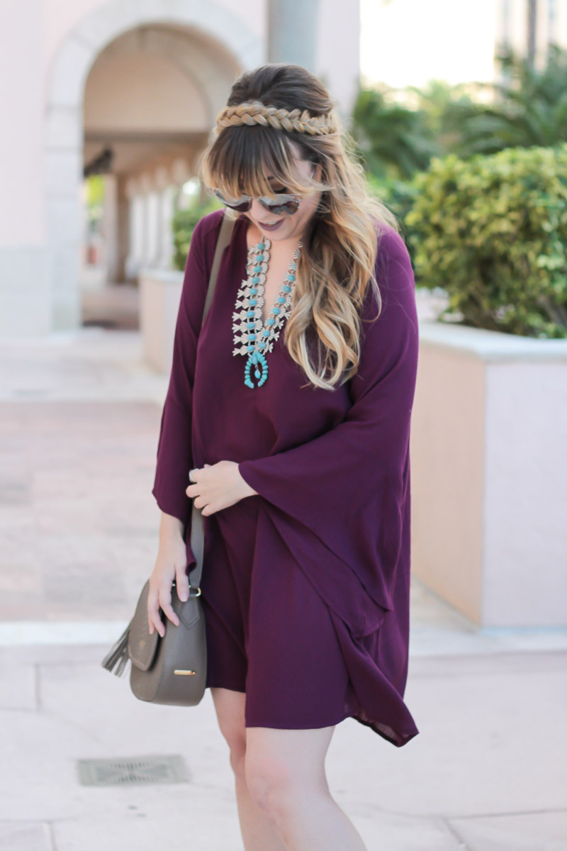 lush-maroon-dress-baublebar-capri-amulet-necklace-thanksgiving-outfit-idea-9