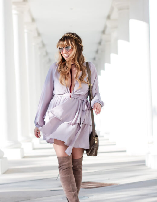 shopbop-gray-tiered-ruffle-dress