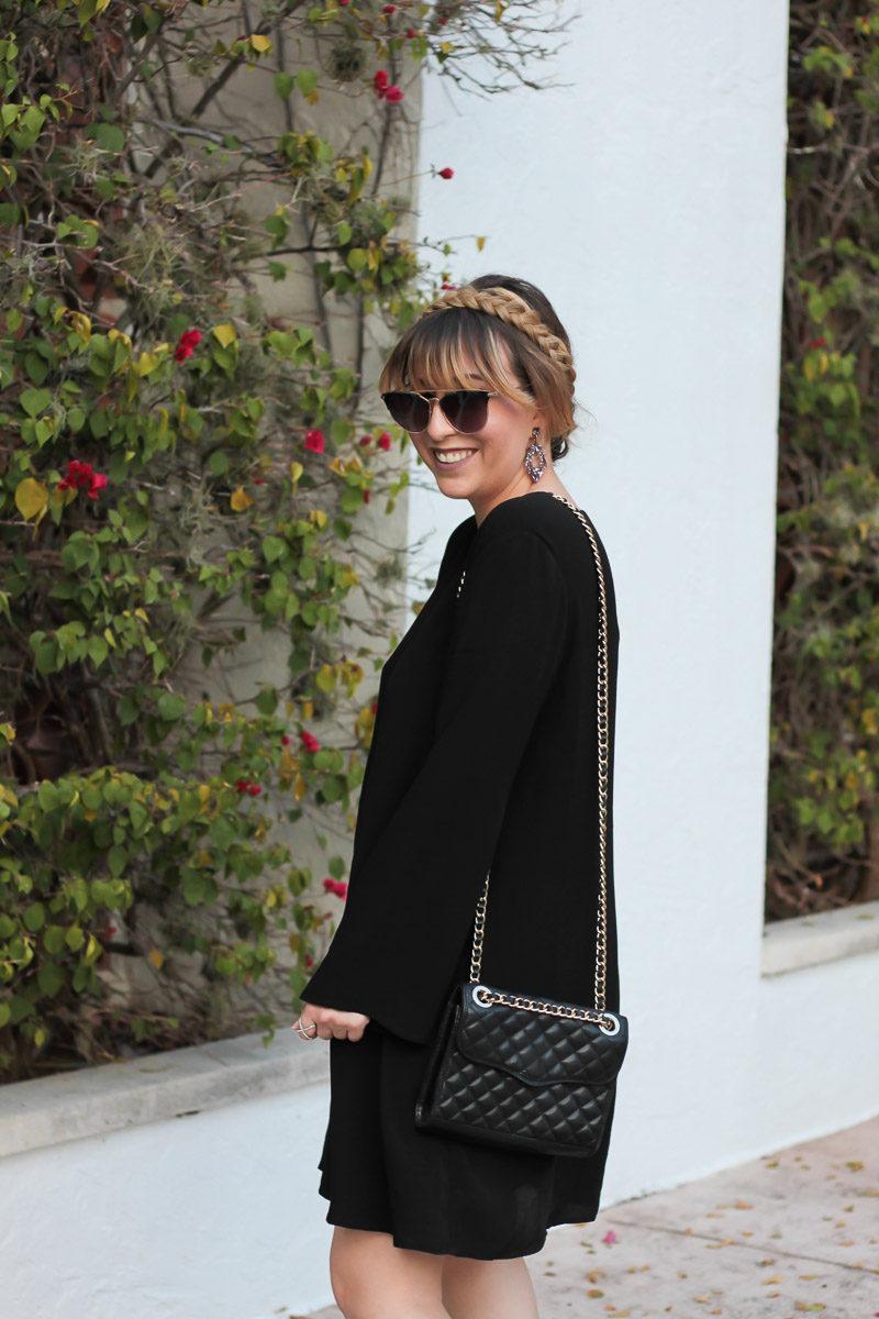 Miami fashion blogger Stephanie Pernas styles Rebecca Minkoff Quilted Mini Affair chain bag