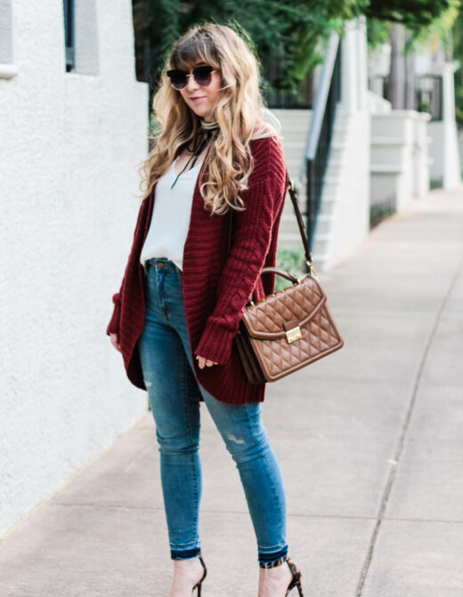 burgundy-cardigan-jeans-and-pearl-choker-outfit_-4