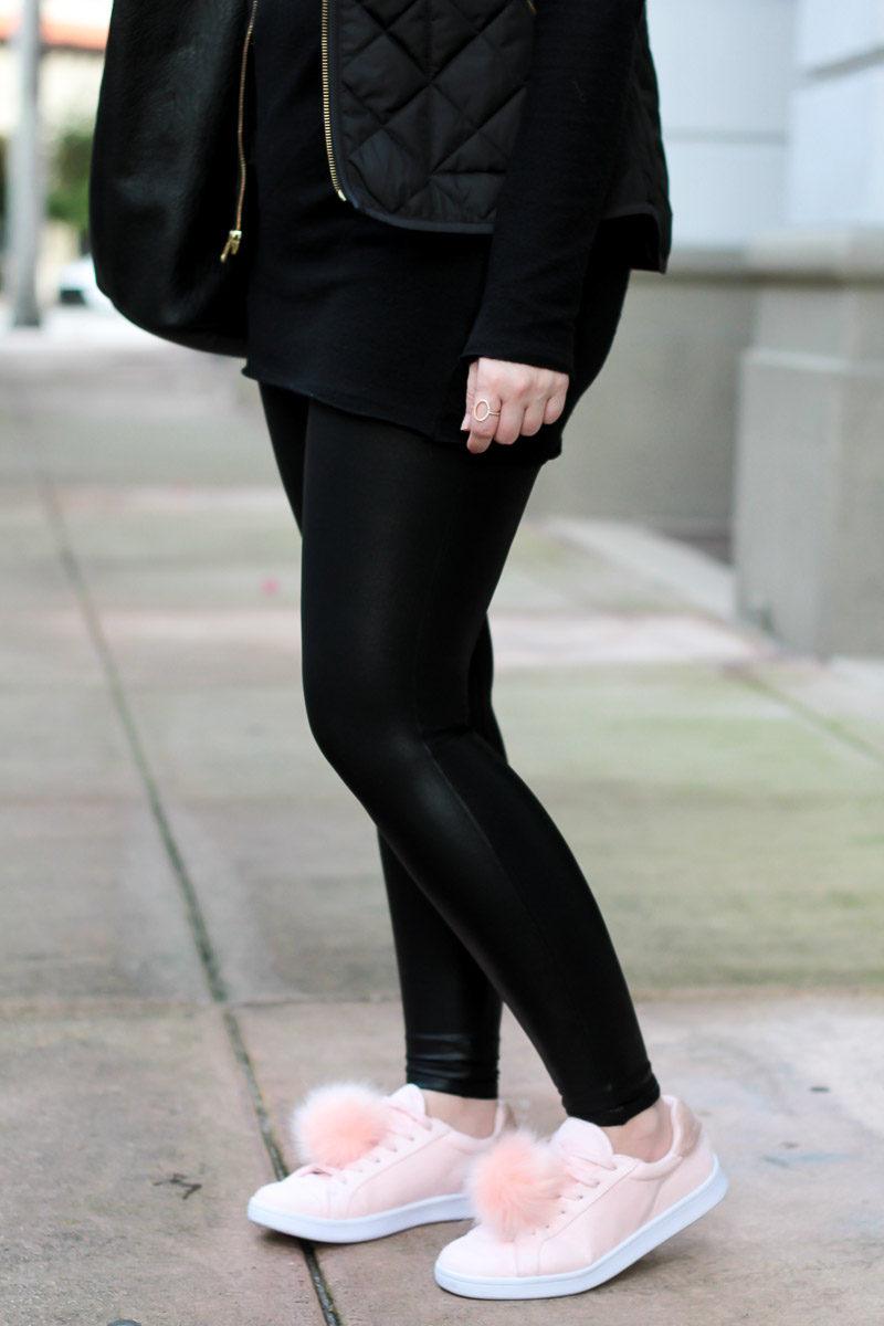 Miami fashion blogger Stephanie Pernas styles Madden Girl Foxy sneakers