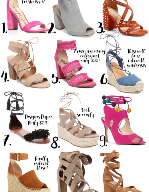 Best Affordable Spring Shoes