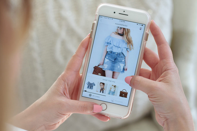 Miami fashion blogger shares an easy tutorial on how to use the Like to Know it app