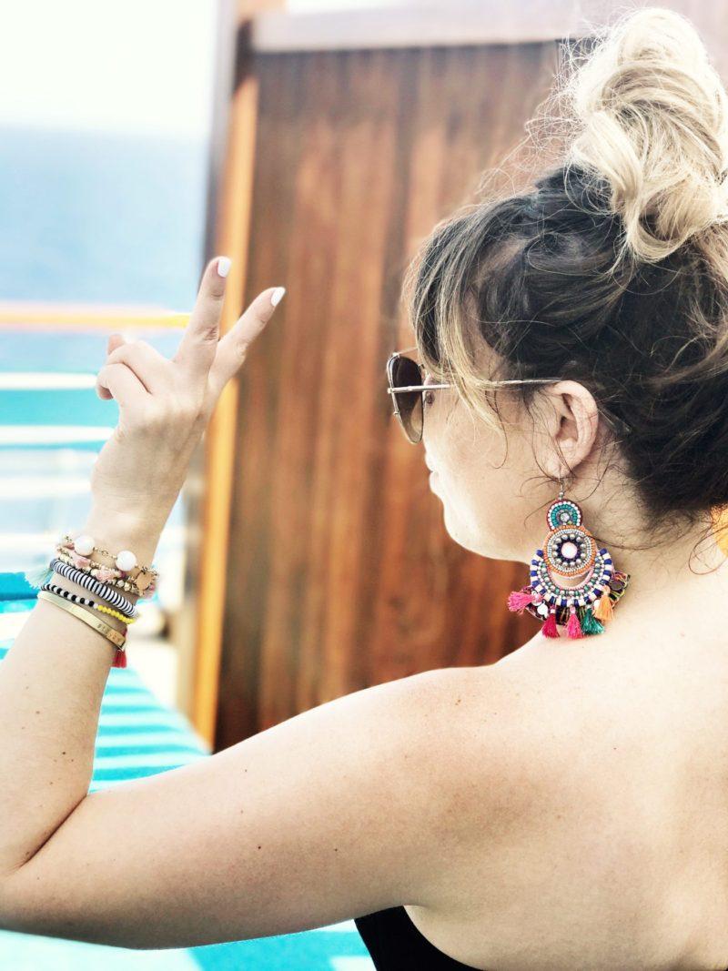 Miami fashion blogger Stephanie Pernas