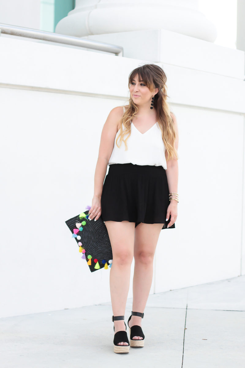 Miami fashion blogger Stephanie Pernas wearing a cute spring outfit