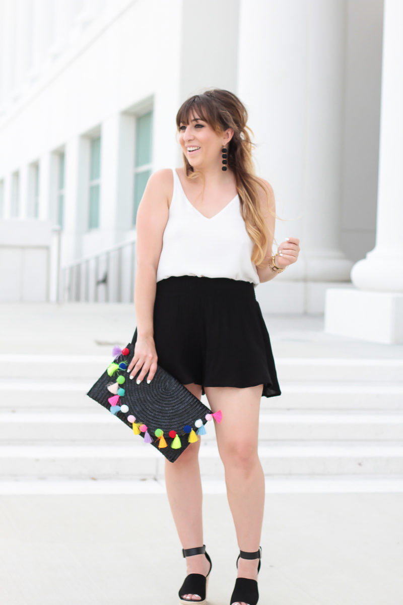 Miami fashion blogger Stephanie Pernas wearing an easy and comfortable spring outfit idea