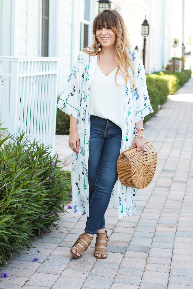Affordable fashion blogger Stephanie Pernas shares a cute spring outfit idea