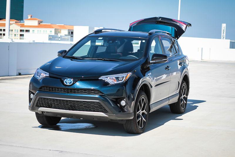 2017 Toyota RAV4 Hybrid in blue mica