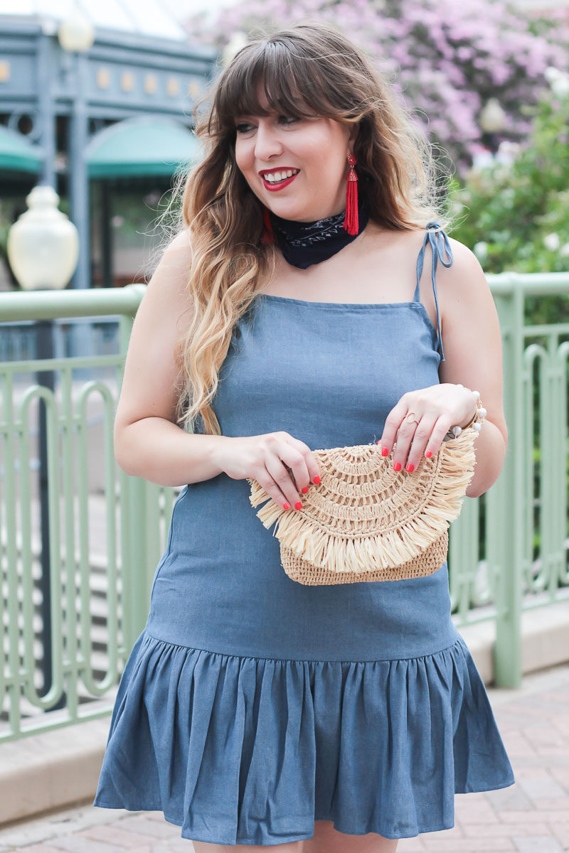Miami fashion blogger Stephanie Pernas wearing a cute red, white and blue outfit idea for the 4th of July