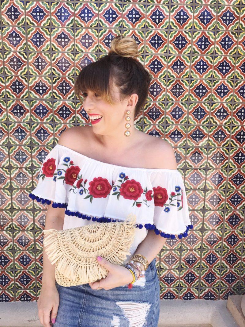 Miami fashion blogger Stephanie Pernas styles a cute Cinco de Mayo outfit idea
