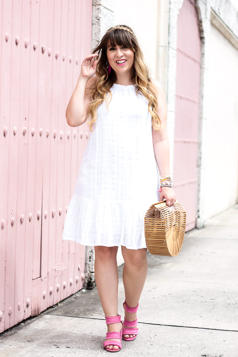 Miami fashion blogger Stephanie Pernas styles a pretty summer outfit idea