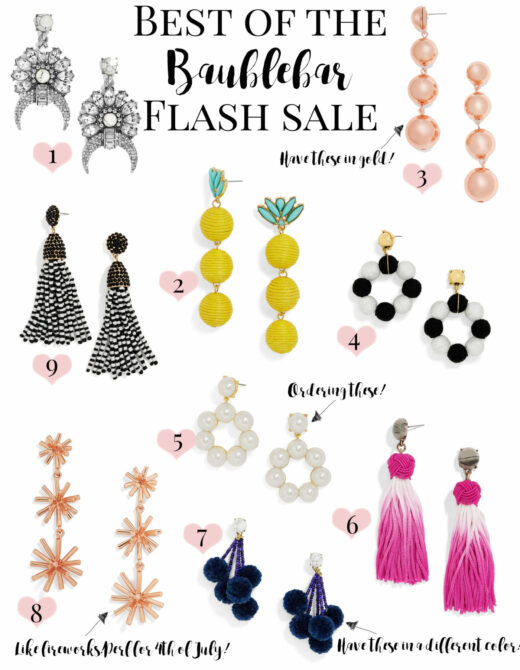 baublebar earring flash sale