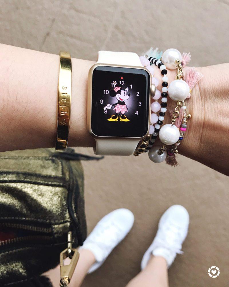 Miami fashion blogger Stephanie Pernas shares her Disney style arm party