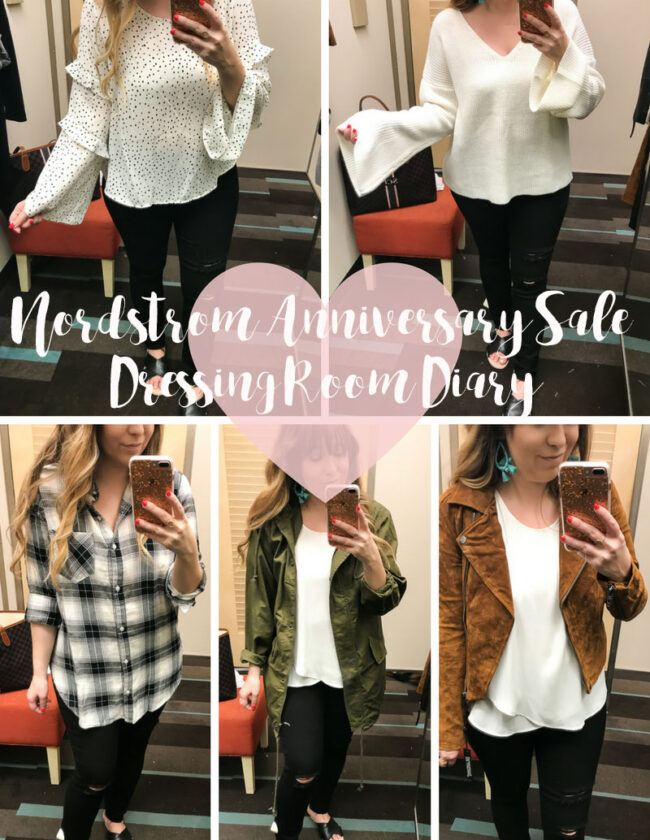 Nordstrom Anniversary Sale 2017 Dressing Room Diary