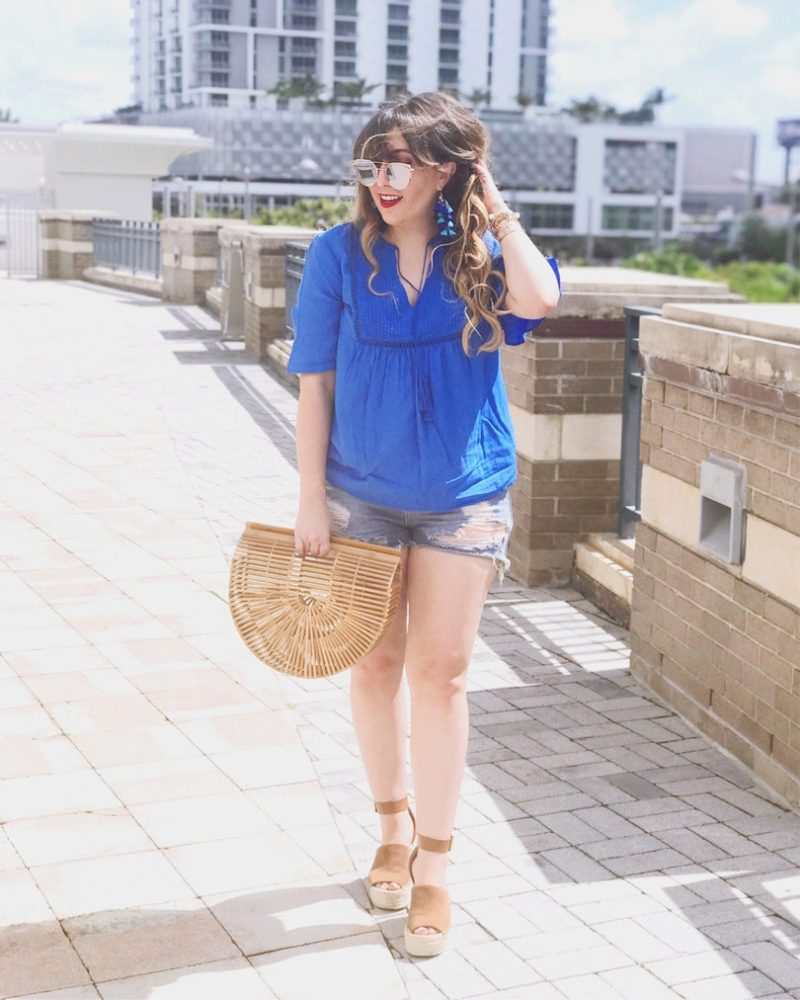 Old Navy swing top and shorts