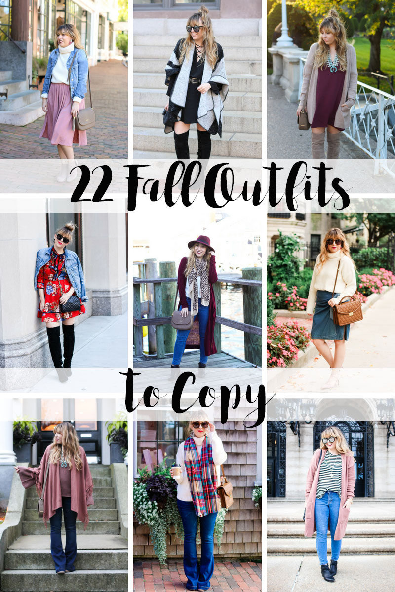 Miami fashion blogger Stephanie Pernas of A Sparkle Factor shares 22 fall outfits to copy this year. Get fall outfit inspiration here.