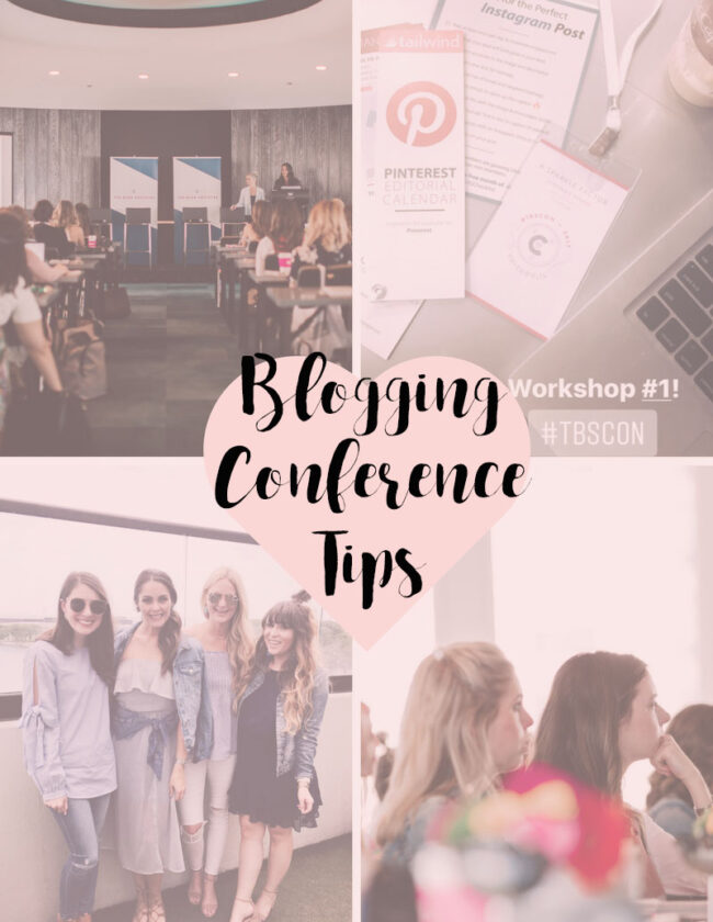 Blogging Conference Tips
