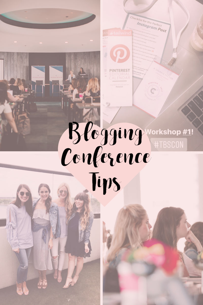 Blogging Conference Tips