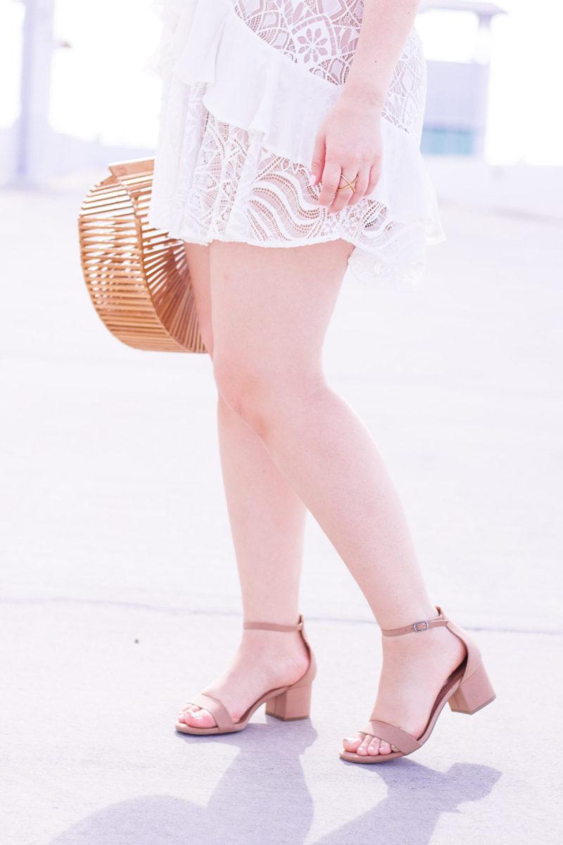 Merona block heel sandals