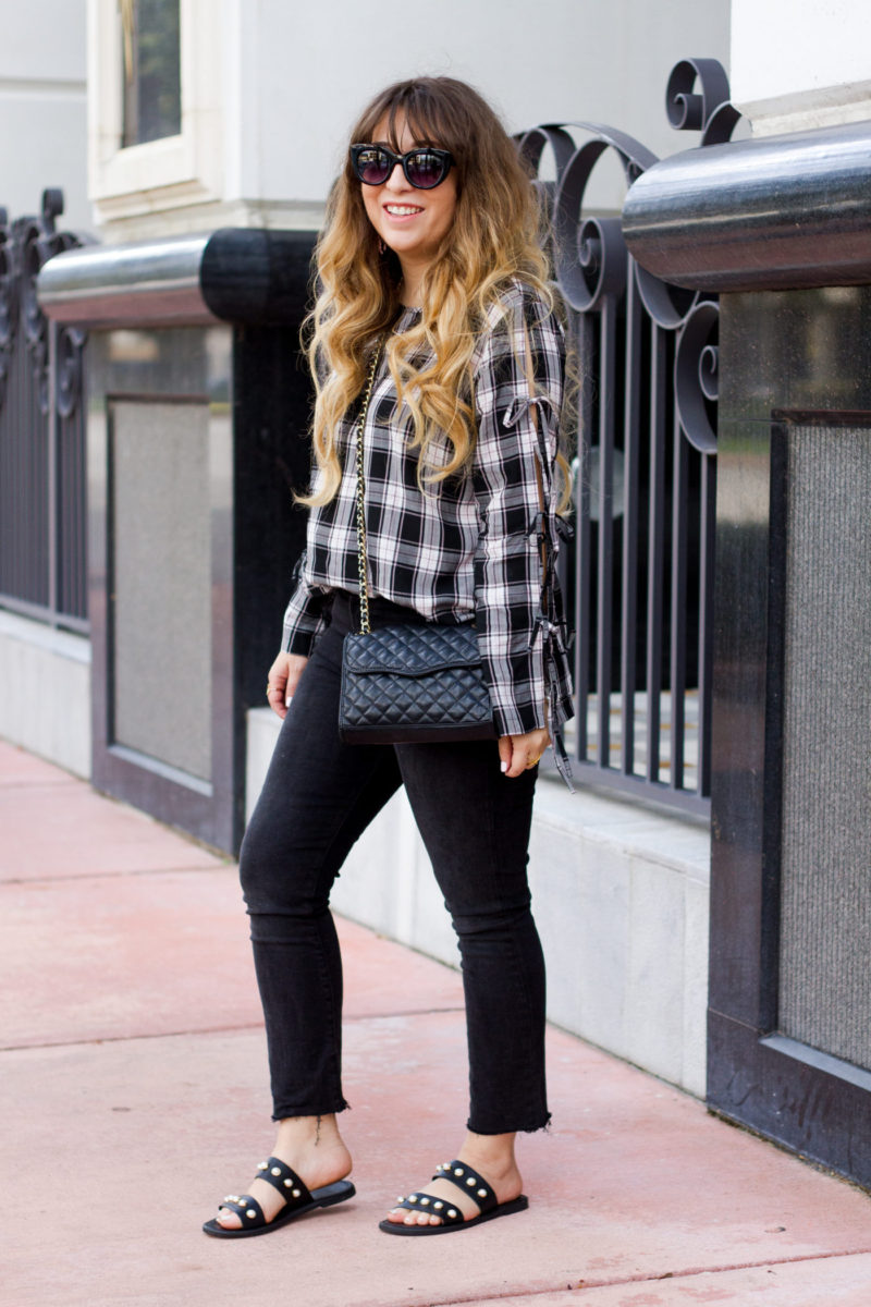 Miami fashion blogger Stephanie Pernas styles a casual fall outfit idea