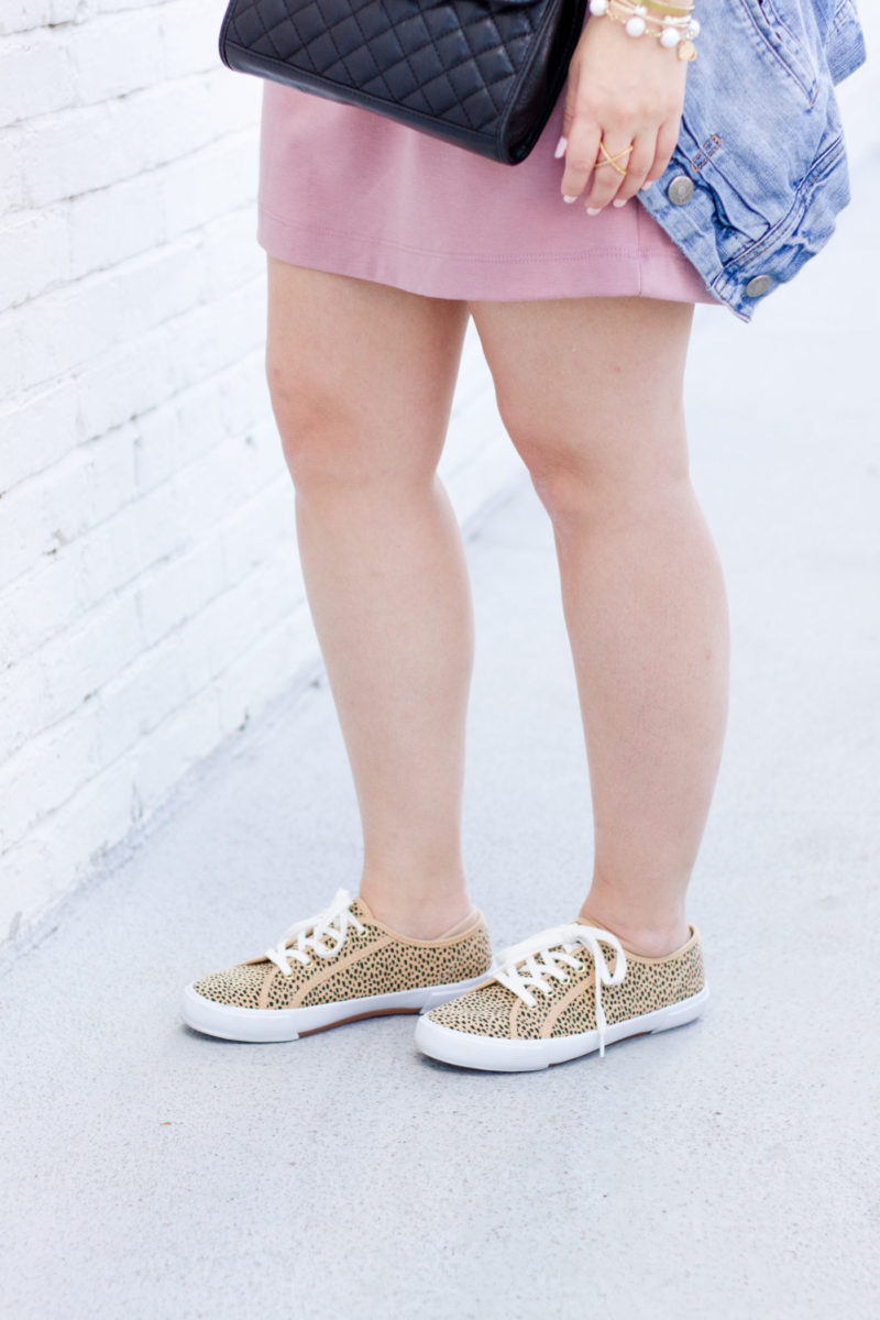 Affordable leopard sneakers